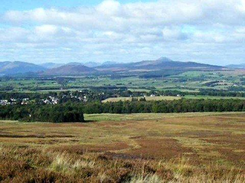 View Toward Killearn And Balfron Scotland