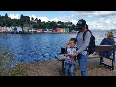 Camping In Scotland Part 6 - Tobermory Isle Of Mull August 2016