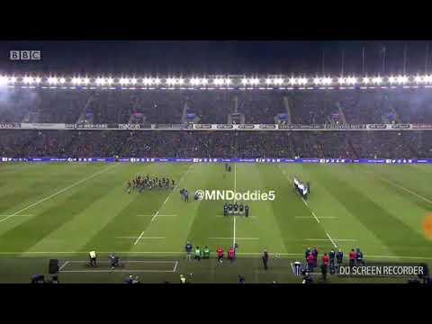 *intense* ALL BLACKS HAKA VS SCOTLAND
