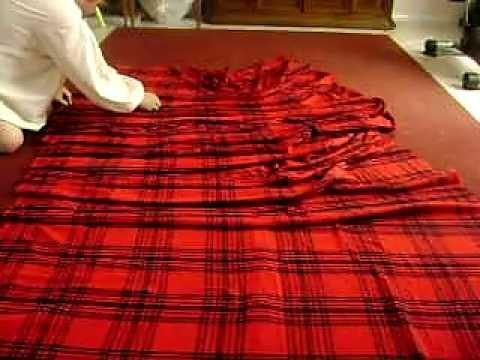 How To Pleat And Wrap A Great Kilt