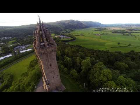 Wallace Monument From Above