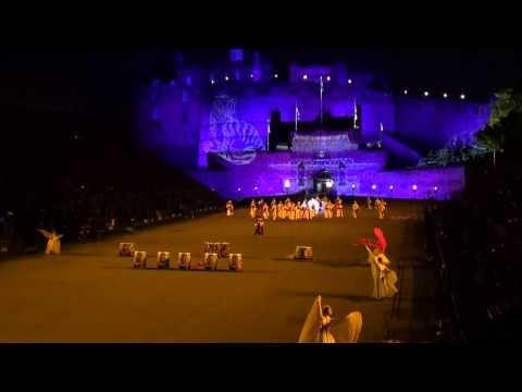 Scotland Edinburgh Tattoo Part 3 Korea Military Band And Dancers