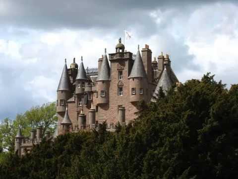 Glamis Castle, Angus Scotland