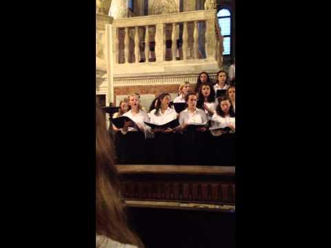 The Birks Of Aberfeldy. St Georges Choir, Venice 2013