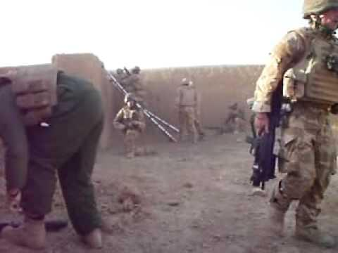 Fire Fight ROYAL REGIMENT OF SCOTLAND 1 SCOTS AFGHAN OCTOBER 2009