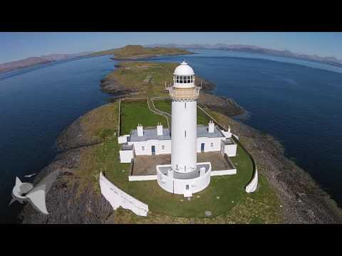 Scotlands Beaches, Islands & Wildlife From A Drone, Tobermory, Isle Of Mull