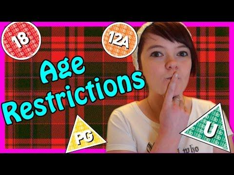 Scottish Age Restrictions