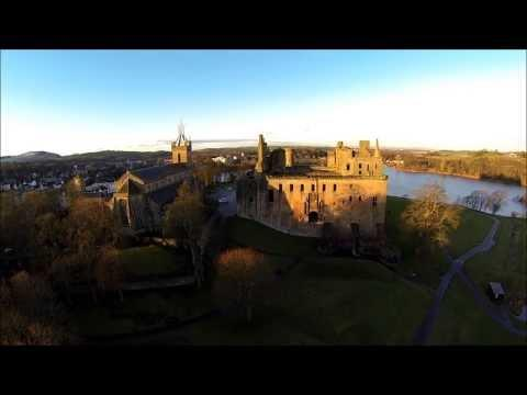 Linlithgow And Linlithgow Palace, West Lothian, Scotland