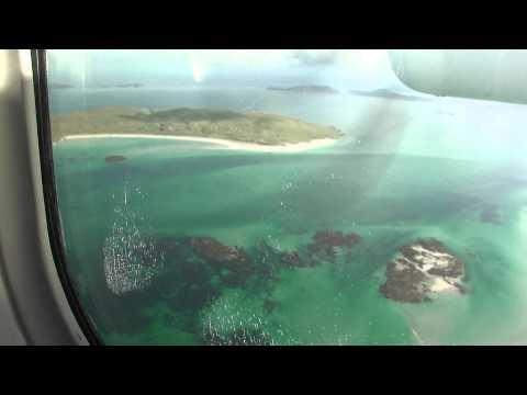 Isle Of Barra To Benbecula - Barra Airport - Taxiing And Take Off