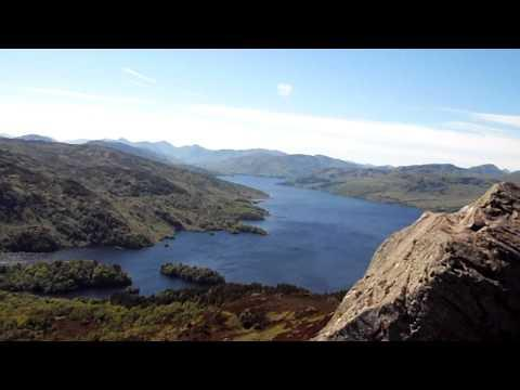 View From Ben A`an, Trossachs.