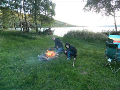 Wild Camping Near Loch Rannoch Scotland