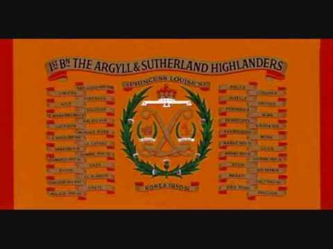 TRIBUTE TO THE ARGYLLS