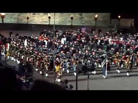 Massed Pipes And Drums,  Royal Edinburgh Military Tattoo 2015