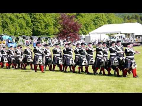 The 2016 Atholl Gathering And Highland Games At Blair Castle, Scotland
