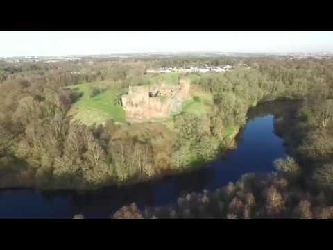 Bothwell Castle By Air