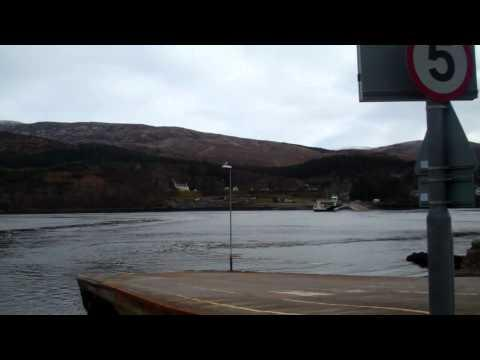 Corran Ferry At The Inn At Ardgour Feb12