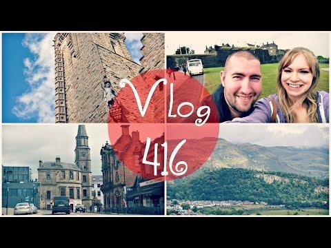 CLIMBING THE WALLACE MONUMENT | Steve And Jodi In Scotland