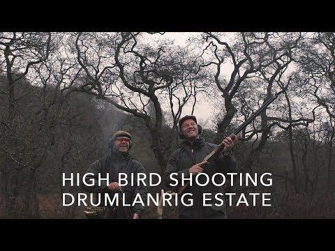 High Bird Shooting At Drumlanrig Estate With Ross Neville