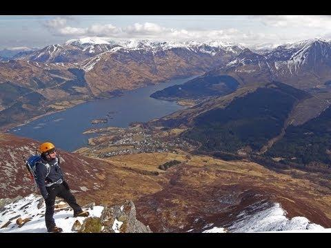 Ballachulish Horseshoe Via School House Ridge (Beinn A' Bheithir Munros - A Winter Scramble)