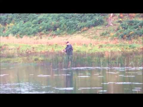Fishing For Pike & Perch In Scotland Woodhall Loch Near Castle Douglas