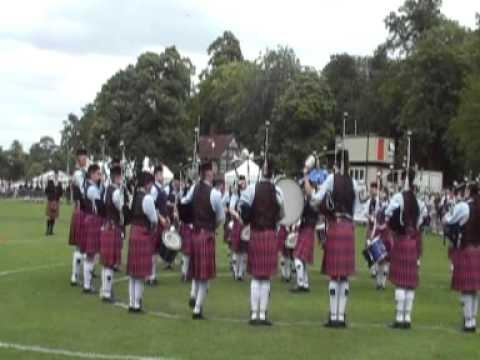 British Pipe Band Championships 2008 - Clan Gregor Society