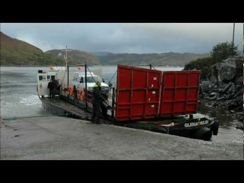 Ferry From The Isle Of Skye To Glenelg, Lochalsh, Highland Region, Scotland