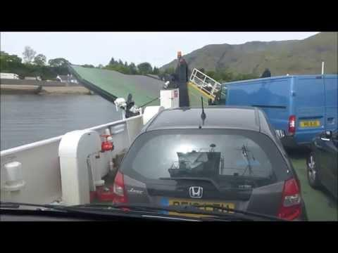 Crossing On The Corran Ferry, Loch Linnhe