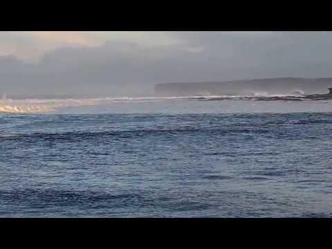 Great Waves For Surfing At Thurso East On Saturday 25th January 2014