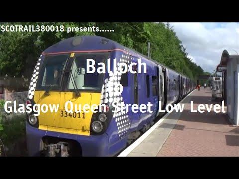 Balloch To Glasgow Queen Street Low Level Onboard 334011 (26th June 2015)