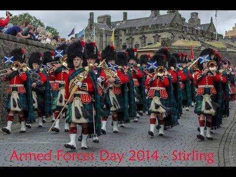 British Army Bands Celebrating Armed Forces Day 2014