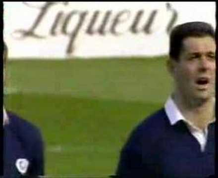Flower Of Scotland Rugby V England 1990