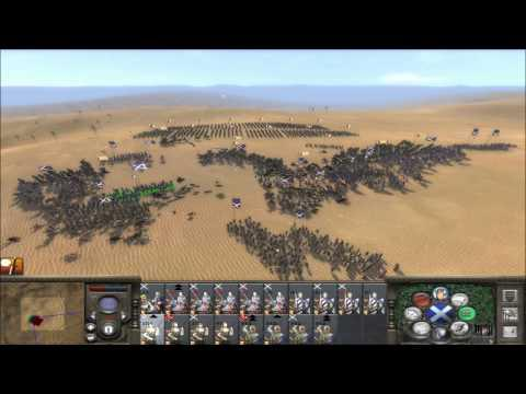 Medieval II Total War Online Battle #150: Scotland Vs The Mongols