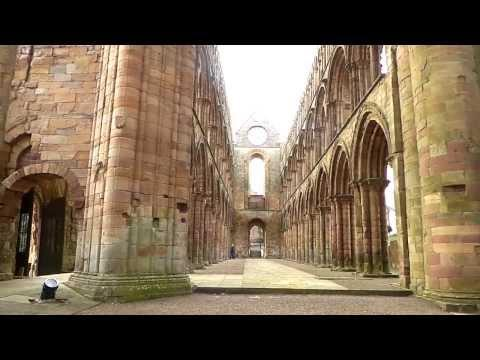 Jedburgh Abbey Scotland (Accompanied By Music)