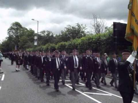 The Argylls Are Marching Again