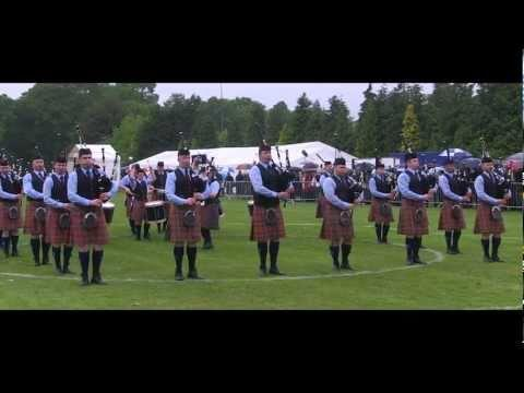 Dysart And Dundonald At The Scottish Championships 2011