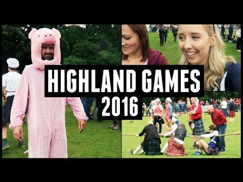 SCOTTISH HIGHLAND GAMES!