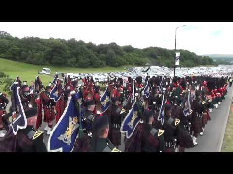 Armed Forces Day In Stirling - 2014