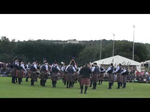 Kilts & More Dysart And Dundonald Pipe Band European Pipe Band Championships 2012