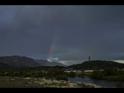 Rainbow Over The Wallace Monument