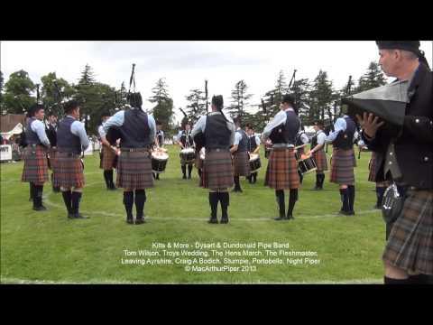 11 Kilts & More   Dysart & Dundonald Pipe Band   2013 Forres