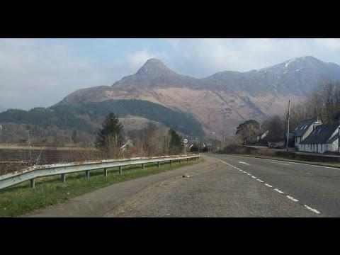 Dashcam Video (4x Speed) Coatbridge To Ballachulish And Back. Full Journey. (HQ)