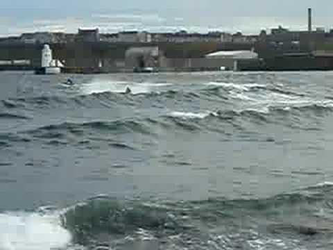 Jetski In Wick Harbour Caithness Part 16