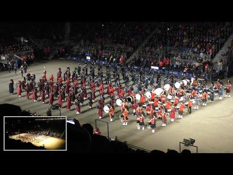 Edinburgh Military Tattoo 2015 - Finale - Massed Pipes & Drums