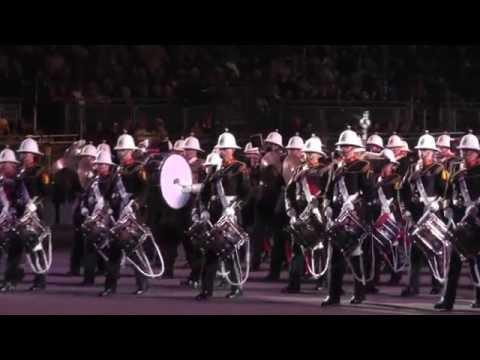 Royal Marines Bands - Royal Edinburgh Military Tattoo 2014