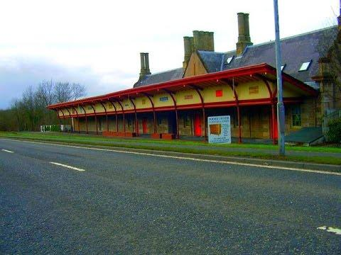 Ghost Stations - Disused Railway Stations In The Scottish Borders, Scotland