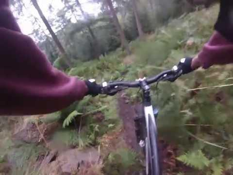 Aberfoyle Nimmo`s Trail Mountain Bike MTB Scotland GoPro Hero 3