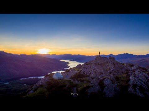 Wild Camping In Scotland - The Trossachs And Ben A'an