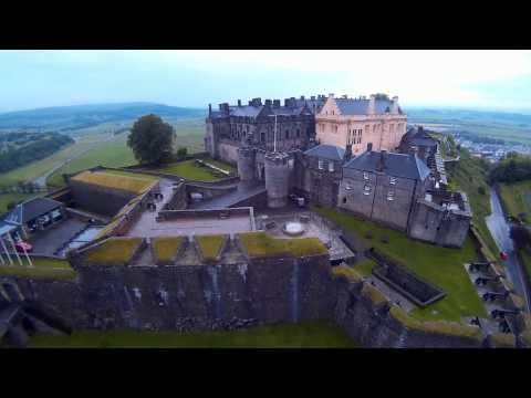 Stirling Castle .... DJI Fly Over .... INNOVV C1
