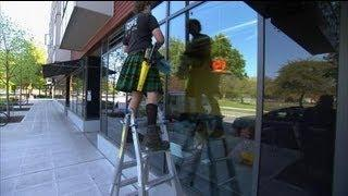 Men in Kilts Turns Heads as a Successful Window Washing Business by OPEN Forum
