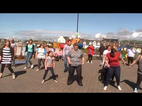 The Slosh Dance At Music On The Prom Girvan
